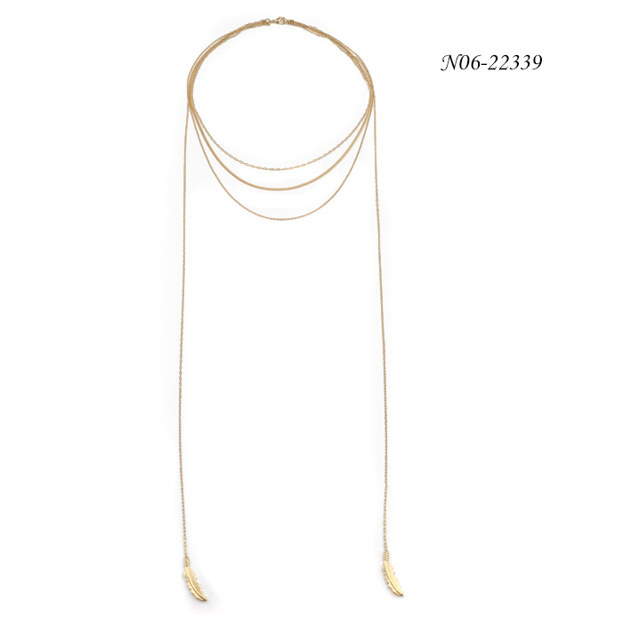 Charm Chain Necklace N06-22339