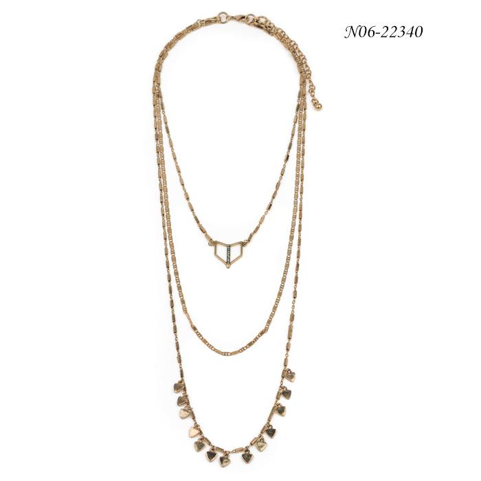 Chain Pendant Necklace N06-22340