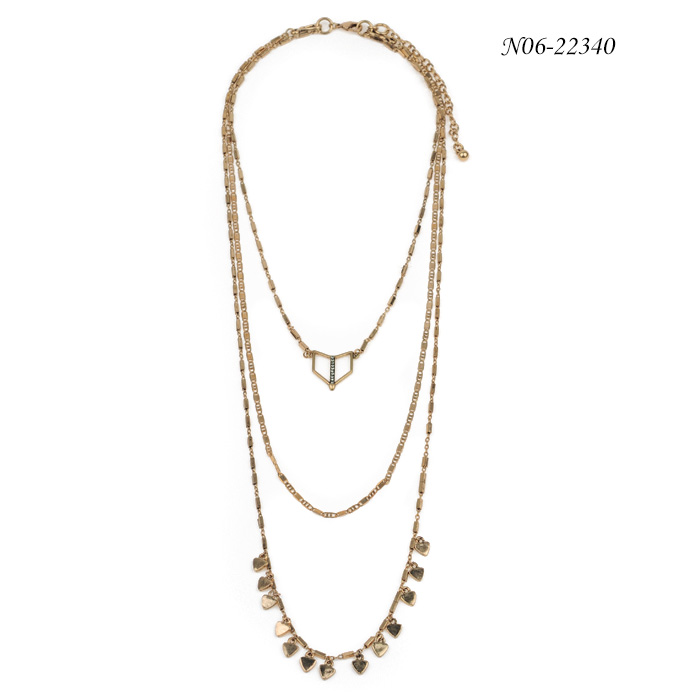 Chain Pendant Necklace N06-22340