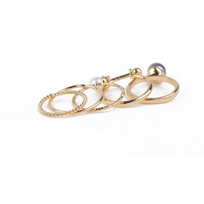 Rhinestone Ring Set R06-9340
