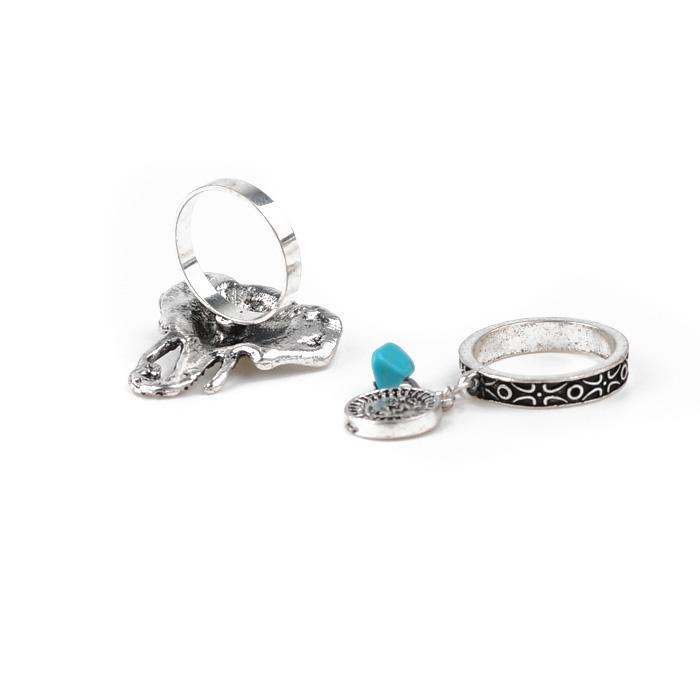 rhinestone rings Set R06-9377