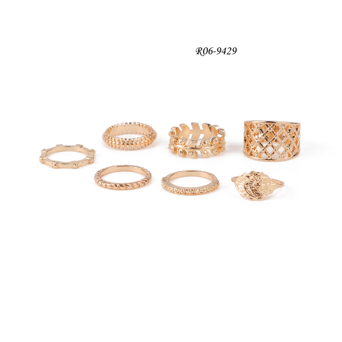 natural rings Set R06-9429