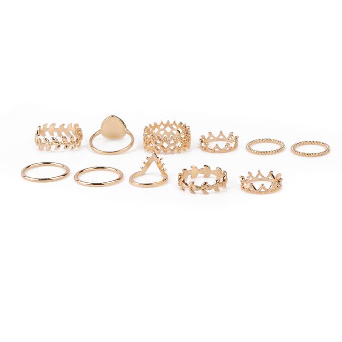 China Rhinestone Ring Set factory R06-9553
