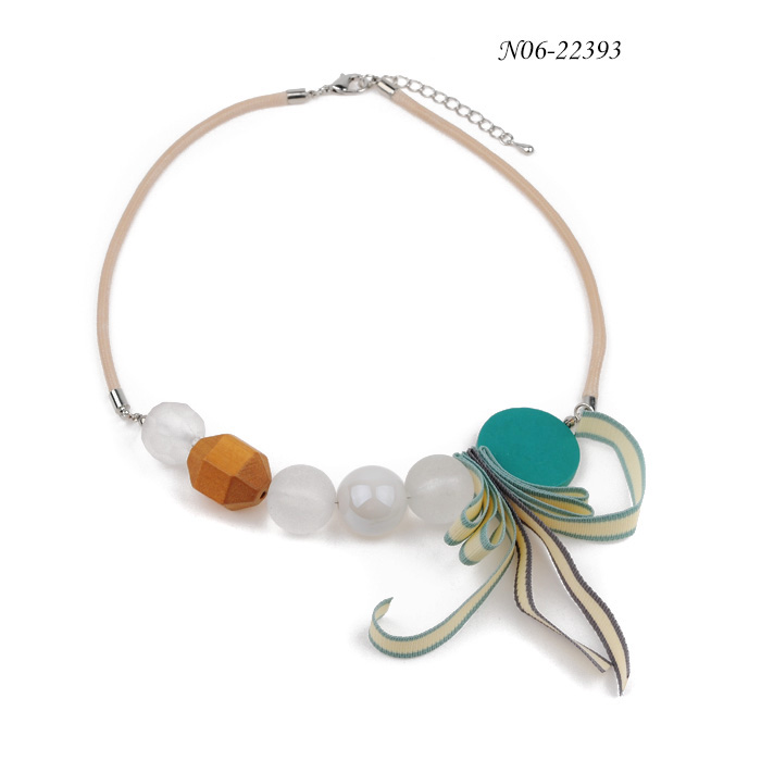 Elegant Shape Statement Necklaces N06-22393