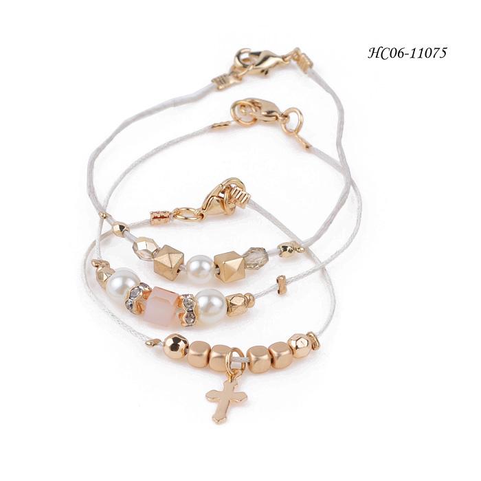 wholesale metal alloy bracelets HC06-11075