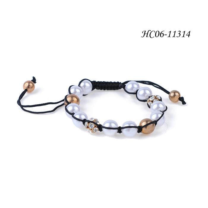 imitation pearl bracelets HC06-11314