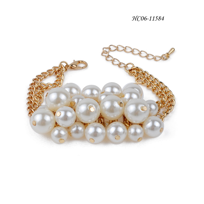 cultured pearl bracelets HC06-11584