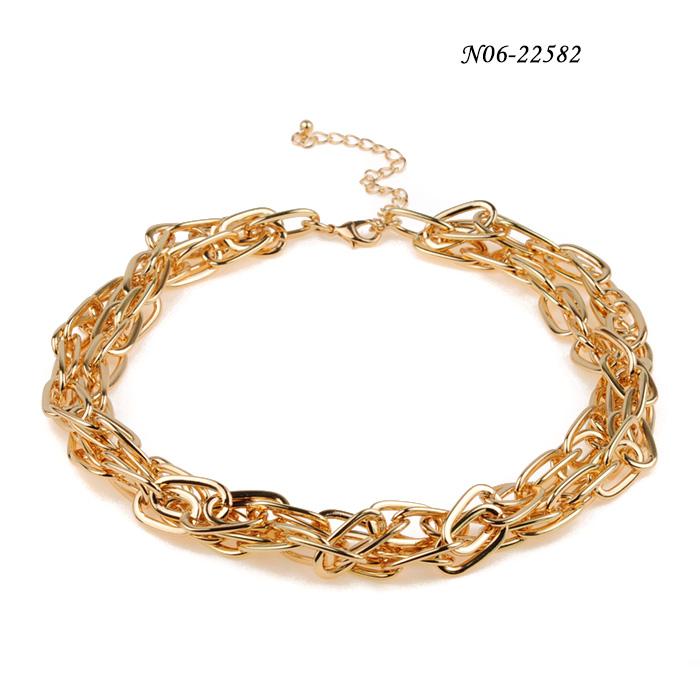 Metal Alloy Necklaces N06-22582