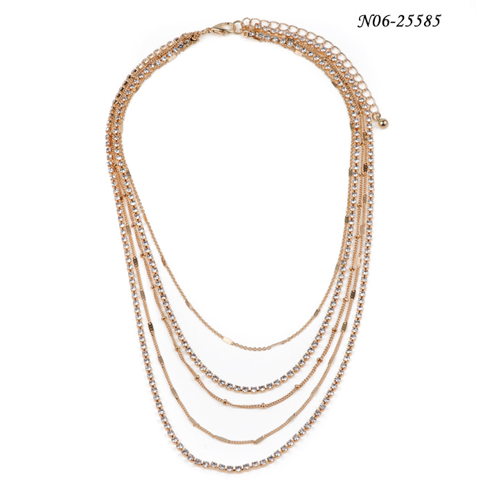 China Fashion Statement Necklace N06-22585