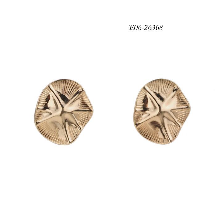 crystal stud earrings E06-26368