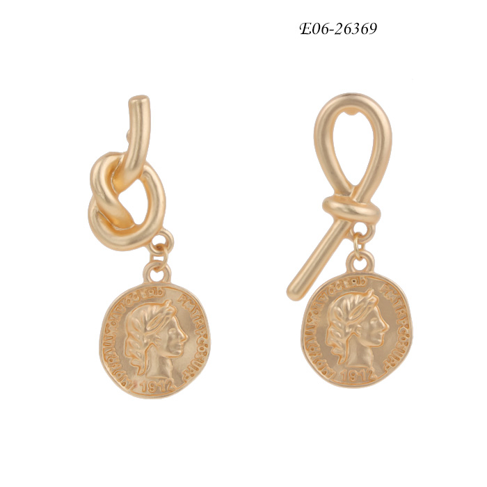 stainless steel stud earrings E06-26369