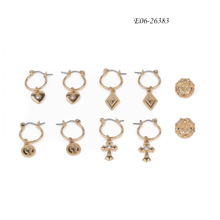fashion stud earrings E06-26383