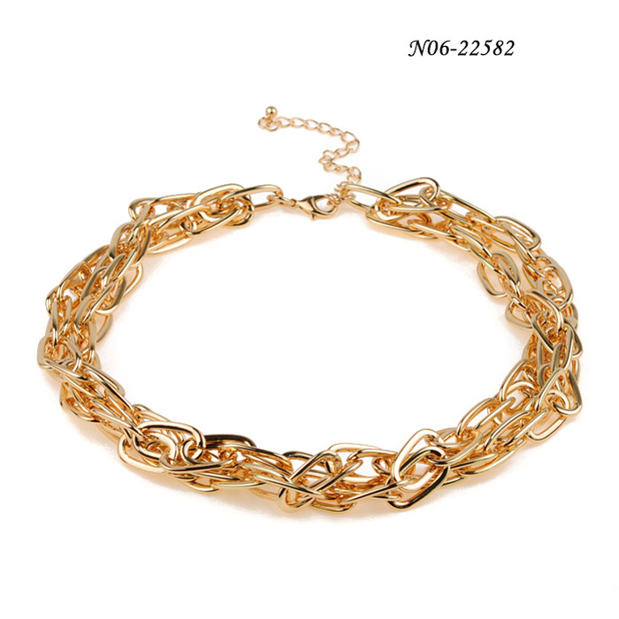 Metal Alloy Necklaces N06-22582