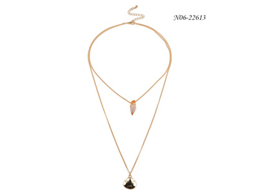What are the matching skills of crystal pendants necklace?